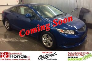 2013 Honda Civic Coupe LX 5 Speed Manual! Heated Seats! Bluetoot