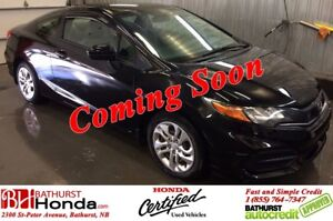 2014 Honda Civic Coupe LX Heated Seats! Bluetooth! Power Options