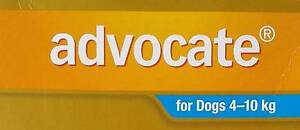 Advocate Dog Light Blue (4-11 kg) single dose Woodberry Maitland Area Preview