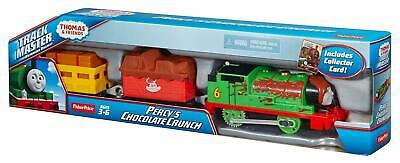 Fisher-Price Thomas & Friends TrackMaster Percy's Chocolate Crunch Motorized
