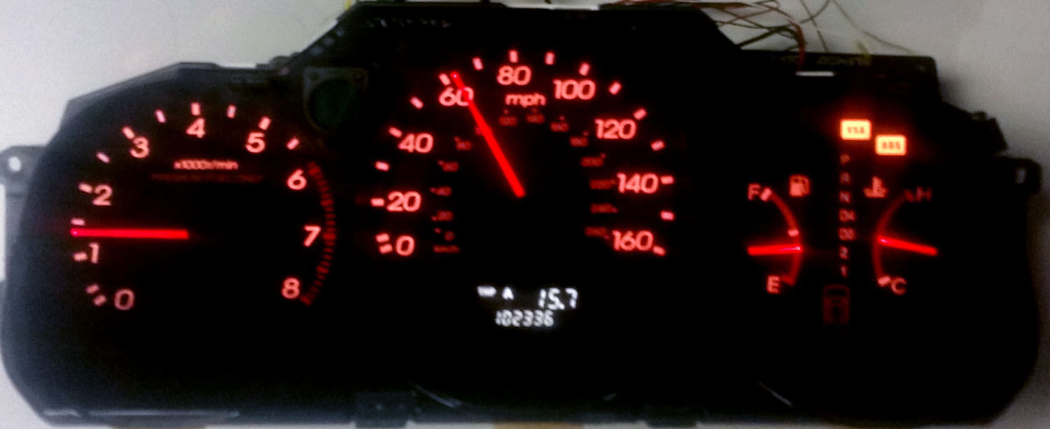 Acura 3.5 RL instrument cluster DIAGNOSTIC FEE 1996 1 997 1998 1999 2000 2001 02