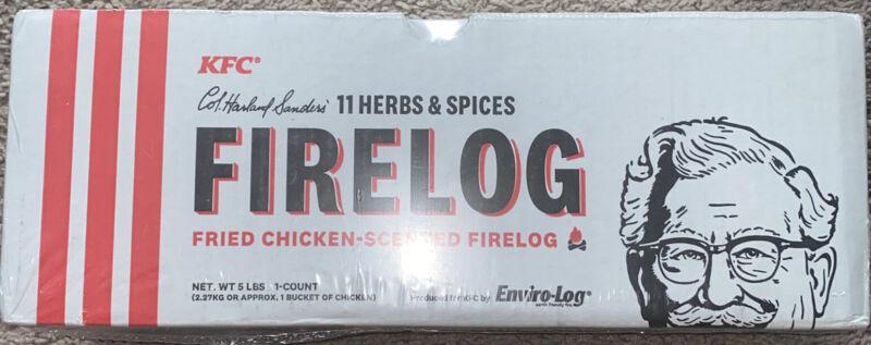 KFC Limited Edition 11 Herbs Spices Firelog Enviro-Log 2019 Envirolog Fire Log