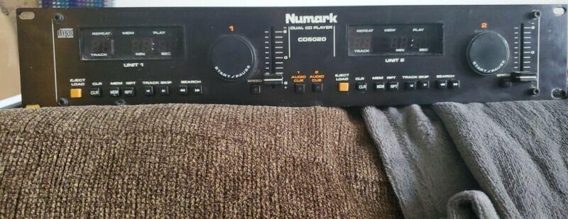 Vintage Numark CD5020 Dual CD Player Remote Control Nov 1990 untested