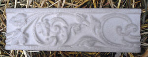 2-unbreakable-plastic-roman-scroll-trim-molds-plaster-resin-cement-2-moulds