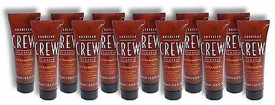 Men Ultra Matte (American Crew Men's Classic Hair Gel Ultramatte Medium Hold (6 Oz. Total) Lot 12 )