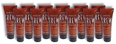 American Crew Men's Classic Hair Gel Ultramatte Medium Hold
