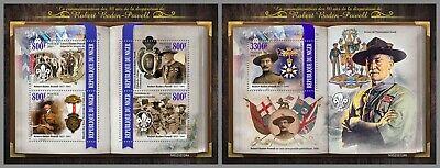 NIGER 2021 ** Robert Baden-Powell Pfadfinder Scouts #18-124baB