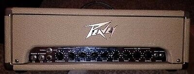 1992 USA made Peavey classic 50 all tube tweed guitar amplifier head