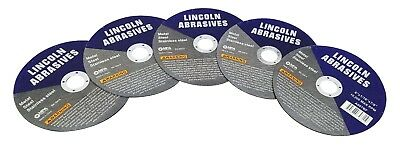 5 Pc 6 X 116 X 78 Cut Off Wheels Stainless Steel Metal Cutting Discs