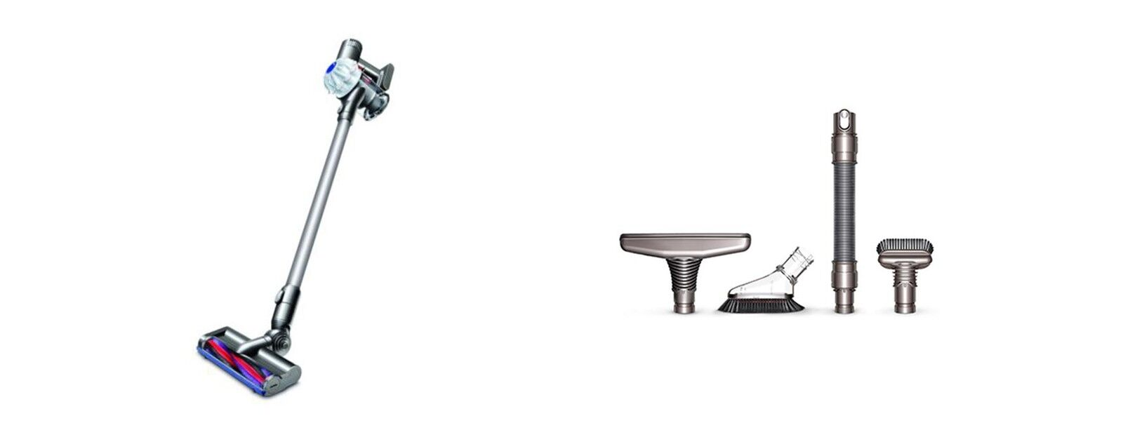More info - Dyson V6B with free 4-pc accessory kit (value of $102)
