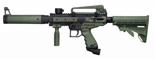 Tippmann Cronus OLIVE BLACK Tactical Paintball Gun semi-auto marker NEW! Tippman