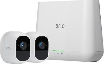 Arlo - Pro 2 2-Camera Indoor/Outdoor Wireless 1080p Security Camera System - ...