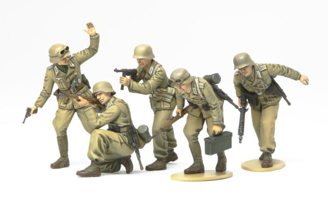 Tamiya WWII FigSet Deutsche Afrika Korps Infanterie M1:35 35314