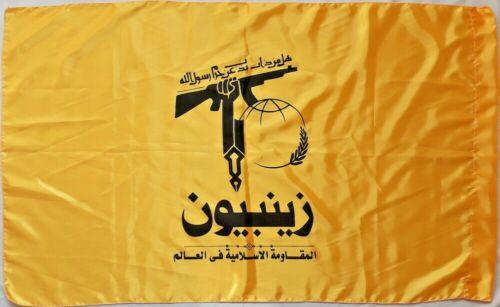 Syria War Pakistani Military Shia Liwa Zainebiyoun Holy Shrines Defenders Flag