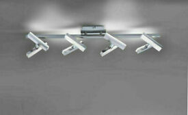 NEW - Leuchten Direkt Rico Wall Light LED matte nickel, 8-light source