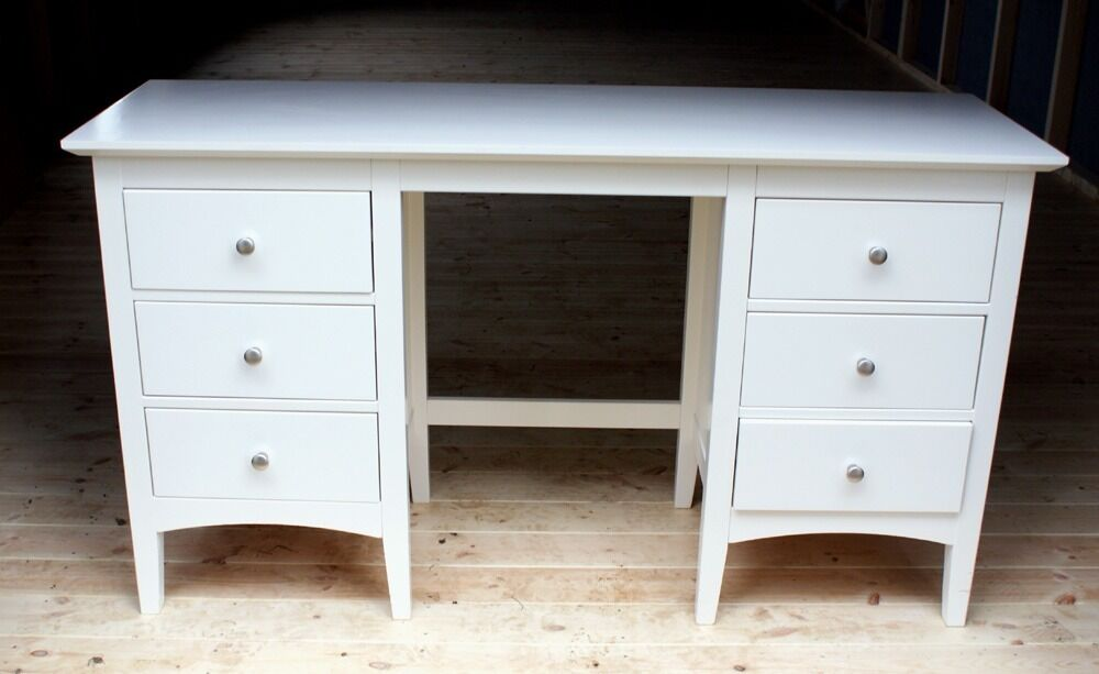 Marks And Spencer U0027Hastings Dressing Table And Stoolu0027, In Ivory   In  Excellent