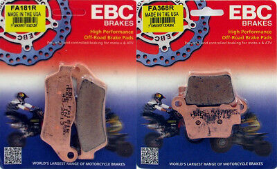 EBC R Series Front & Rear Brake Pad Set - KTM 125-530 _ FA181R|FA368R