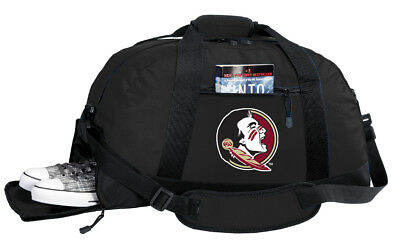 FSU Duffel Bag BEST FLORIDA STATE DUFFLE GYM Travel Bags OUTSIDE SHOE