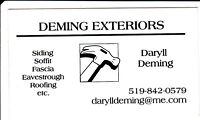 Deming Exteriors - roofing, siding, doors, windows, decks & more