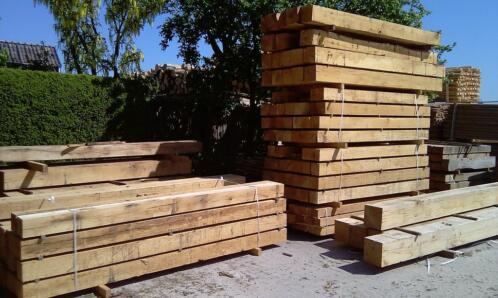 ≥ eiken balken eiken planken eiken bielzen lage prijzen hout