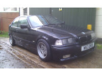 BMW E36 Compact M52 2.5 basic drift spec