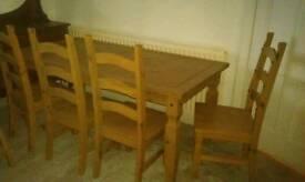 Farm house pine table
