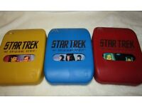 Star Trek- The Original Series, series 1,2,3 DVD box sets
