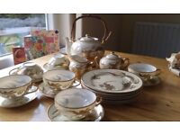 Japanese tea set - complete and in excellent condition (unused)