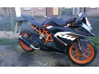 KTM rc 125 Great condition