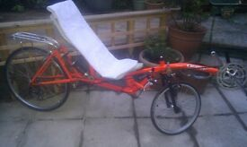 Recumbent Bicycle - Wallasey