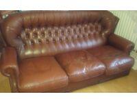 Leather Custom made sofa