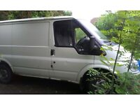 2006 SWB Ford Transit 2.0 diesel failed MOT on corroded chassis.
