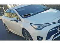 2017 17 TOYOTA AVENSIS BRAND NEW WHITE BUSINESS EDITION 2.0D TAXI PURPOSE