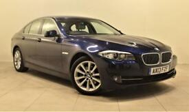 BMW 5 SERIES 2.0 520D SE 4d AUTO 181 BHP + 1 PREV OWNER + SERV (blue) 2013