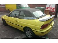 Ford Escort Cabriolet 1.6L XRI 16v Petrol Manual 1995 SALE OR SWAP