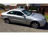 Mercedes CLK six speed manual £1800 ono