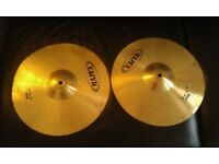Mapex cymbals crash and hitha