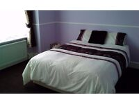 Bright, sunny, double room for rent with share of amenities £100 pw No Bills