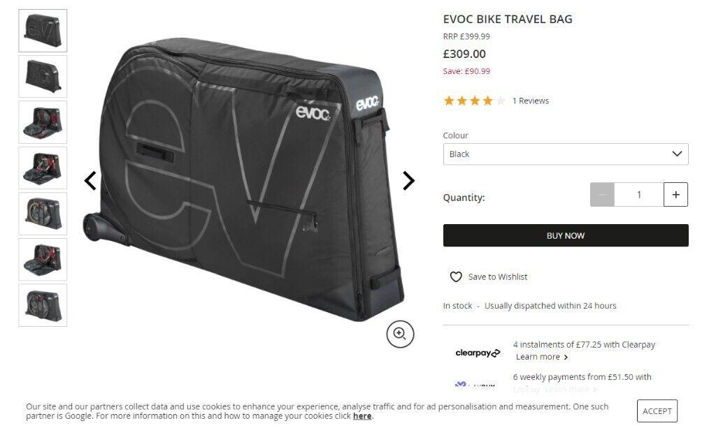 Evoc Bike Travel Bag In Lurgan County Armagh Gumtree