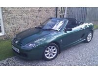 MG tf, great mileage, Convertable