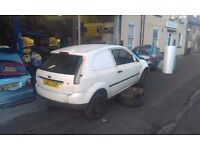 FORD FIESTA MK6 1.4 TDCI BREAKING ALL PARTS AVAILABLE WHEEL NUT