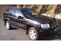 JEEP GRAND CHEROKEE LIMITED 2.7 CRD 2004. ONLY 90000 MILES!!!