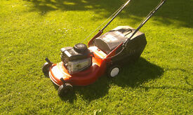"Efco 16"" cut petrol lawnmower"