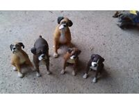 Boxer dog ornaments