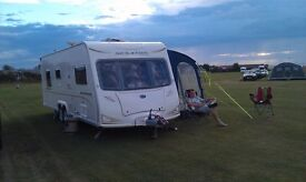 2008 Bailey Senator Louisiana Series 6 twin axle caravan for sale. Immaculate condition.