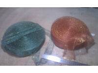 Florist Floral ribbon reel special gold green red florist clearance wholesale joblot Ideal for DIY