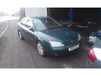 BREAKING ALL PARTS FORD MONDEO MK3 2.0 TDCI DIESEL AUTO