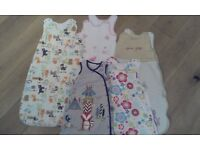 Various baby/toddler sleep bags FOR SALE