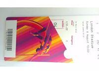 World Athletics Tickets 0- London 2017