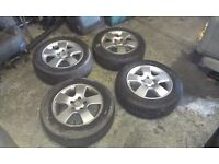AUDI A4 B5 ALLOY WHEEL&TYRES 15 inch 195/65/15